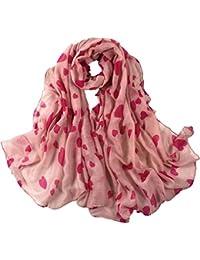 Cinnamou Mode Femmes Impression Étole Longue Soft Paris Foulard Écharpe  Wrap Châle Stole Écharpes Foulards 22ec077b521