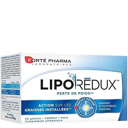 Forté Pharma 460 Liporédux Brûleur de Graisse 56 Gélules 900 mg