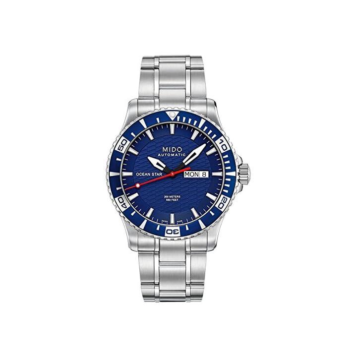 12f2becfde7c Mido Ocean Star M0114301104102 – Reloj para hombres ...
