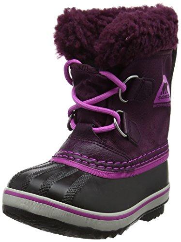 Sorel Kinder Childrens Yoot Pac Nylon Stiefel, violett (purple dahlia/foxglove), Größe: 28