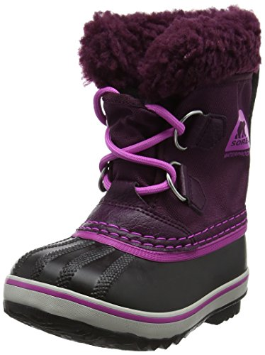 Sorel Kinder Childrens Yoot Pac Nylon Stiefel, violett (purple dahlia/foxglove), Größe: 28 - Sorel Kids Yoot Pac Boot