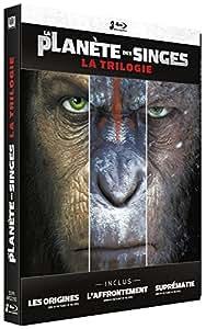 La Planète des Singes : La Trilogie [Édition Limitée boîtier SteelBook]