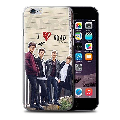 Officiel The Vamps Coque / Etui pour Apple iPhone 6S+/Plus / Pack 5pcs Design / The Vamps Journal Secret Collection Brad