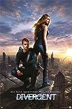 Divergent - One Sheet Die Bestimmung Sci-Fi Romanze Neil Burger Poster Plakat - Grösse 61x91,5 cm + 1 Ü-Poster der Grösse 61x91,5cm