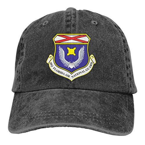 Wnocdmv Florida Air National Guard Dad Hat Adjustable Denim Hat Classic Baseball Cap National Guard Hat