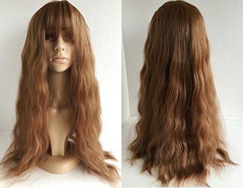 Fashion perruques, cheveux ondulés de la femme, perruques, frappe l'air, plus gros et moelleux, bouclé cheveux