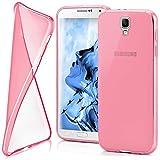 moex Samsung Galaxy Note 3 Neo | Hülle Silikon Transparent Rosa Clear Back-Cover TPU Schutzhülle Dünn Handyhülle für Samsung Galaxy Note 3 Neo Case Ultra-Slim Silikonhülle Rückseite