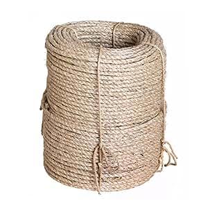 laisse corde en sisal naturel corde sisal aussi pour. Black Bedroom Furniture Sets. Home Design Ideas