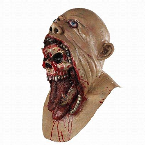 ke The Walking Dead Halloween Scary Maske für Erwachsenne Junge Leute (Scary Halloween-kostüme Für Jungen)