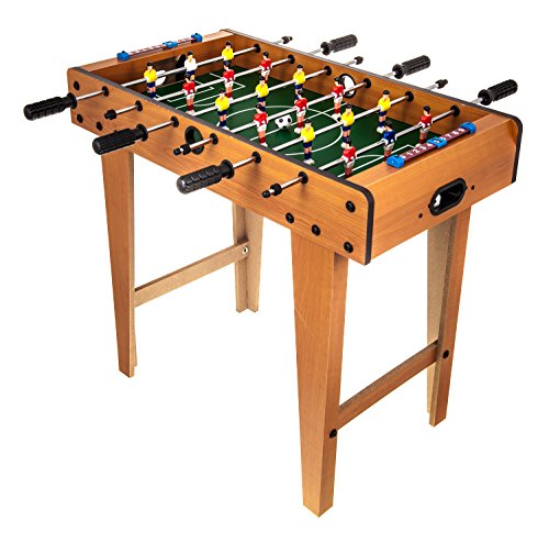 DELUXE FREE STANDING FOOTBALL SOCCER TABLE GAME WITH LEGS
