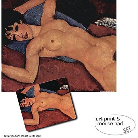 Set Regalo: 1 Stampa D'Arte (50x40 cm) + 1 Tappetino