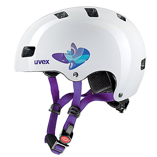 Uvex Kinder Fahrradhelm Kid 3, Butterfly Blue, 51-55, 4148190515