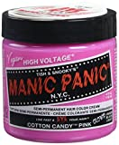 "MANIC PANIC Cream Formula Semi-Permanent Hair Color - Cotton Candy Pink ??"" GLOWS"