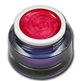 5ml Metallic Farbgel Love Pearl Rot-Pink Premium Colorgel RM Beautynails