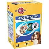 Pedigree Dentastix Friandises pour Pack de 28 Sticks Hygiène Bucco Dentaire Moyen Chien, Medium