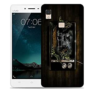 Snoogg Radio House Designer Protective Phone Back Case Cover For Vivo V3 Max