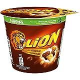 NESTLE LION - Céréales Petit Déjeuner - Cup de 45g - Lot de 8