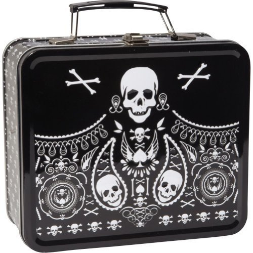 skull-and-paisley-black-and-white-metallic-lunch-box-by-loungefly