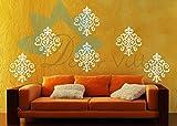 Wall Sticker ( Sankranti motif ,Surface Covering Area 10 x 12 Inch)