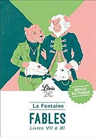 Fables : Livres VII à XI par Jean de La Fontaine