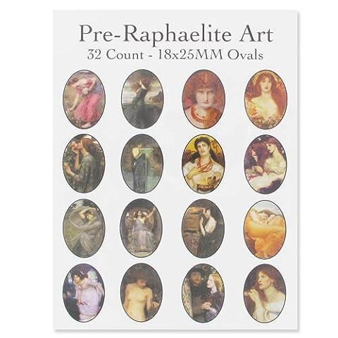 Papier à thème Pre-Raphaelite Art x1