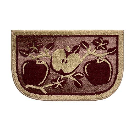 Strukturen Strukturierte Apple Orchard rutschsichere keilförmige Küche Slice Teppich, 18von 71cm