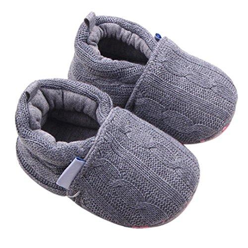 Manjedoura Únicos Suaves Sapatos A Longra Modo Babyschuhe De Bebê Tênis Cinza Meses 18 Sapatos Deslizamento Lauflernschuhe Sapatos Malha 0 zqpwwO
