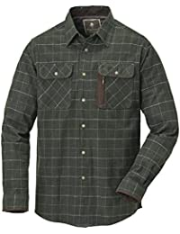 Pinewood Cornwall Camisa de franela para hombre, camiseta, hombre, color Verde oscuro, tamaño 2 X-grande