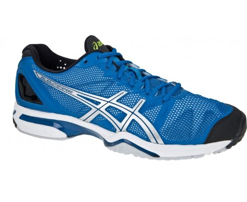 Asics  Gel-Solution Speed, Chaussures de Tennis homme Bleu - Bleu