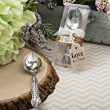 'Love Is Sweet' Collection Victorian Love Engraved Sugar Spoon , 72 by FavorOnline