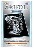 Mammut 8250537 - Artfoil-Eule, ca. 25,5 x 20,4 cm, silver