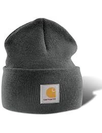 Carhartt Watch Hat Beanie A18 Strickmütze (dunkelgrau)