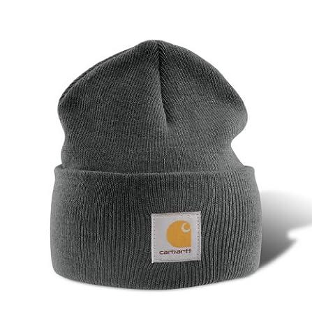 Carhartt Acrylic Mütze Beanie coal A18CLH, heather, A18