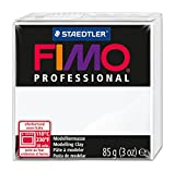 Staedtler 8004-0 - Fimo Professional Normalblock, 85 g, weiß