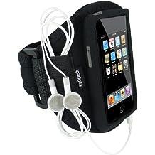 igadgitz Negro Brazalete Armband Sport Deporte Funda para Apple iPod Touch 1ª 2ª 3ª 4ª Gen