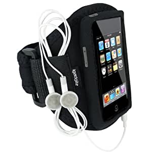 iGadgitz Neoprene Sports Gym Jogging Armband for iPod Touch 1st, 2nd, 3rd & New 4th Generation 8gb, 16gb, 32gb & 64gb