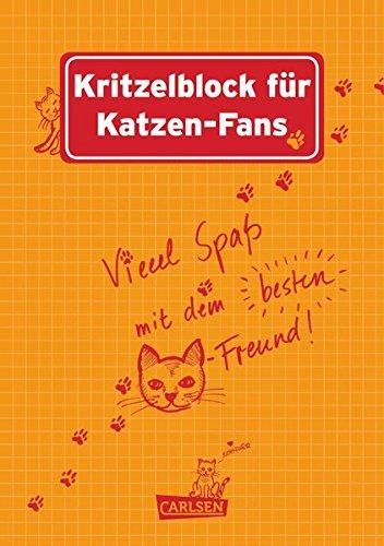 Preisvergleich Produktbild Kritzelblock für Katzen-Fans