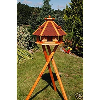 Vogelhaus-XXL Vogelh/äuser V09 Vogelfutterhaus Vogelh/äuschen-aus Holz-Schreinerarbeit!!!