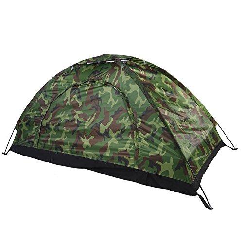 Tienda de Camuflaje de Campaña Tienda de Protección UV Carpa Impermeable para Senderismo, Camping al Aire Libre