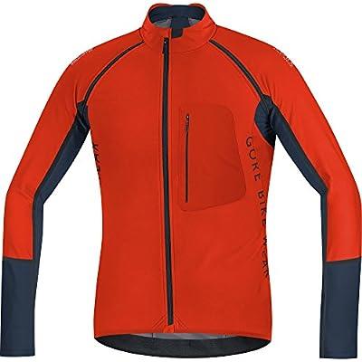 Gore Bike Wear Herren Funktionsunterwäsche Bustier und Top Alp-x Pro Windstopper Soft Shell Zip-Off Jersey Trikot