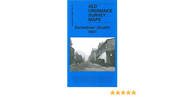 Lancashire 1891 Godfrey Edition New South Old Ordnance Survey Maps  Earlestown