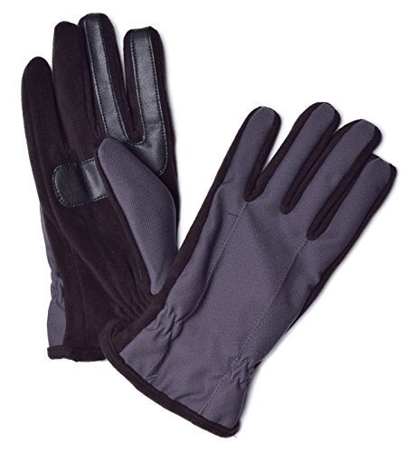 isotoner-mens-smartouch-thermaflex-active-gloves-l-black-grey-by-isotoner