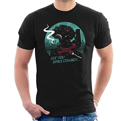 (Cloud City 7 Cowboy Bebop See You Space Cowboy Men's T-Shirt)