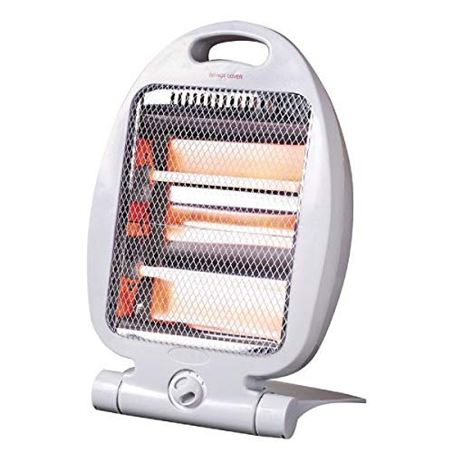 519OSDXXmkL. SS500  - Quartz Halogen Small Portable Electric Heater 400W/800W Free Standing
