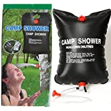 Outdoor Camping Hiking Solar Energy Heated Camp Shower Bag PVC Water Bag 20L / 5 Gallons