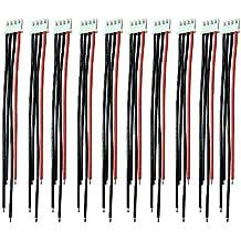 Boladge 1S-6S cargador de balance de batería cable de silicona cable conector JST XH conector adaptador para RC Lipo batería(3S)