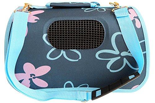 BPS Carrier Carrier Bag Borsa in Stoffa per Cani Cat Animali Animali Taglia M 43.5x25x25cm