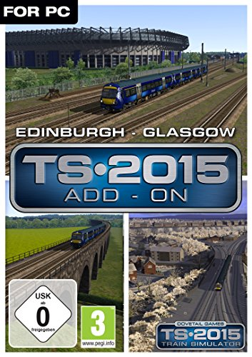 Train Simulator 2015 EdinburghGlasgow