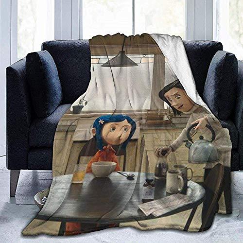 July Ultraweiche Micro Fleece Decke Co-Raline Warm Luxury Für Bed Sofa Garden Car