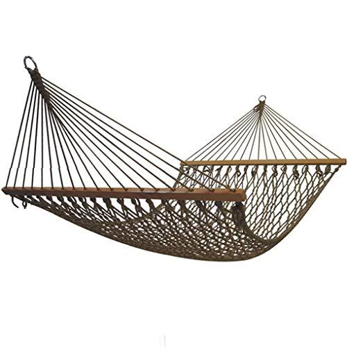 Hof net Bett hängematte im freien Erwachsene Nylon mesh Field double-200 * 150 cm Starke Outdoor Camping Balkon schaukel